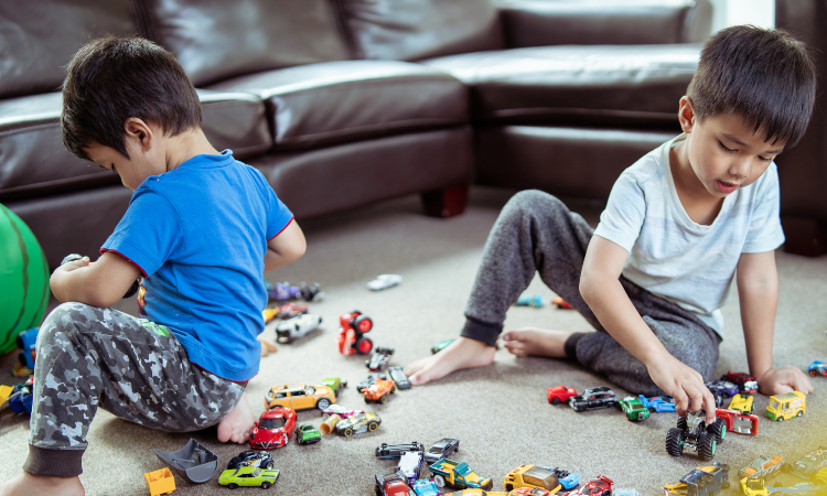 It's Okay for Kids to Play in the Living Room
